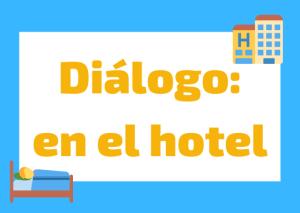 dialogo hotel italiano
