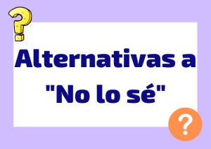 alternativas a non lo so