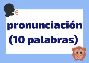 pronunciación palabras italianas