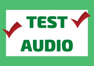 test audio italiano