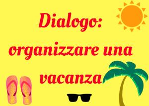 diálogo italiano vacanza