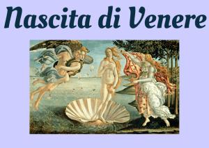 nascita Venere historia