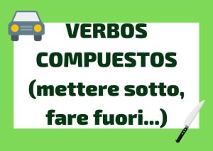 verbos compuestos italiano