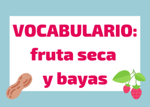 test vocabulario fruta italiano
