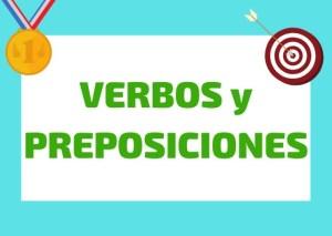 verbos y preposiciones en italiano