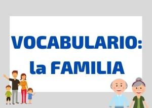 vocabulario familia italiano