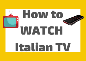watch Italian television
