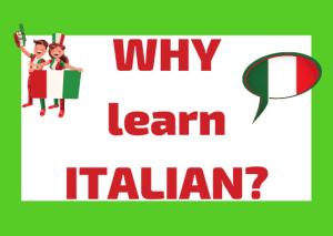 reasons to study Italian