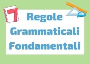 regole grammaticali italiane