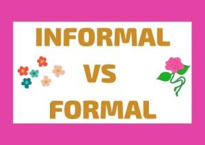 informal vs formal Italian