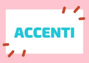 accenti italiani