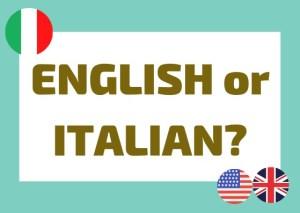 False friends Italian English