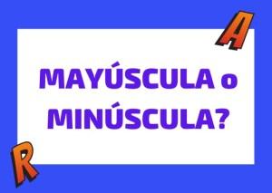 mayuscula o minuscula en italiano