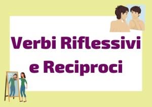 riflessivi e reciproci italiano