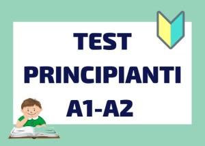 test di italiano per principianti