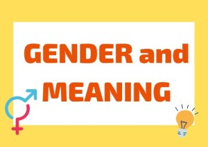 gender and meaning Italian