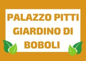 Pitti Palace & Boboli's Garden