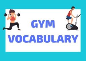 Italian gym vocabulary