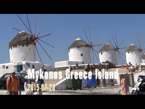 Mykonos, Greece Island Tour – 2015-07-28