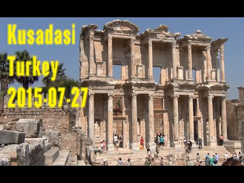 Kusadasi (Turkey) Ephesus Tour – 2015-07-27