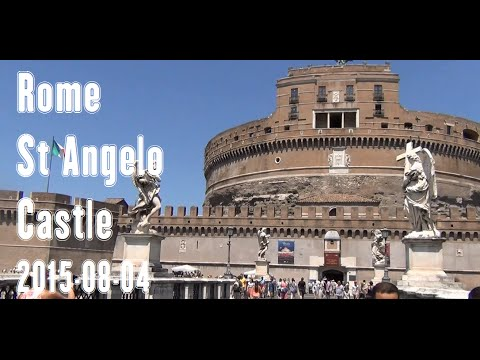 Rome St Angelo Castle – 2015-08-04