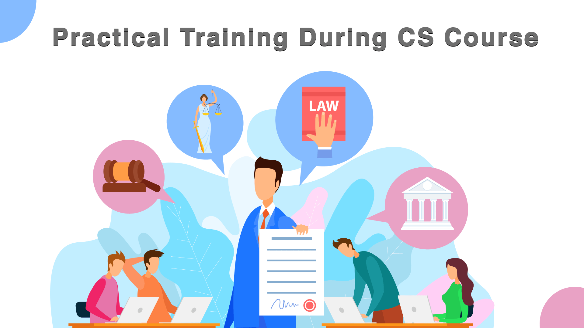 Practical Training During the CS Course