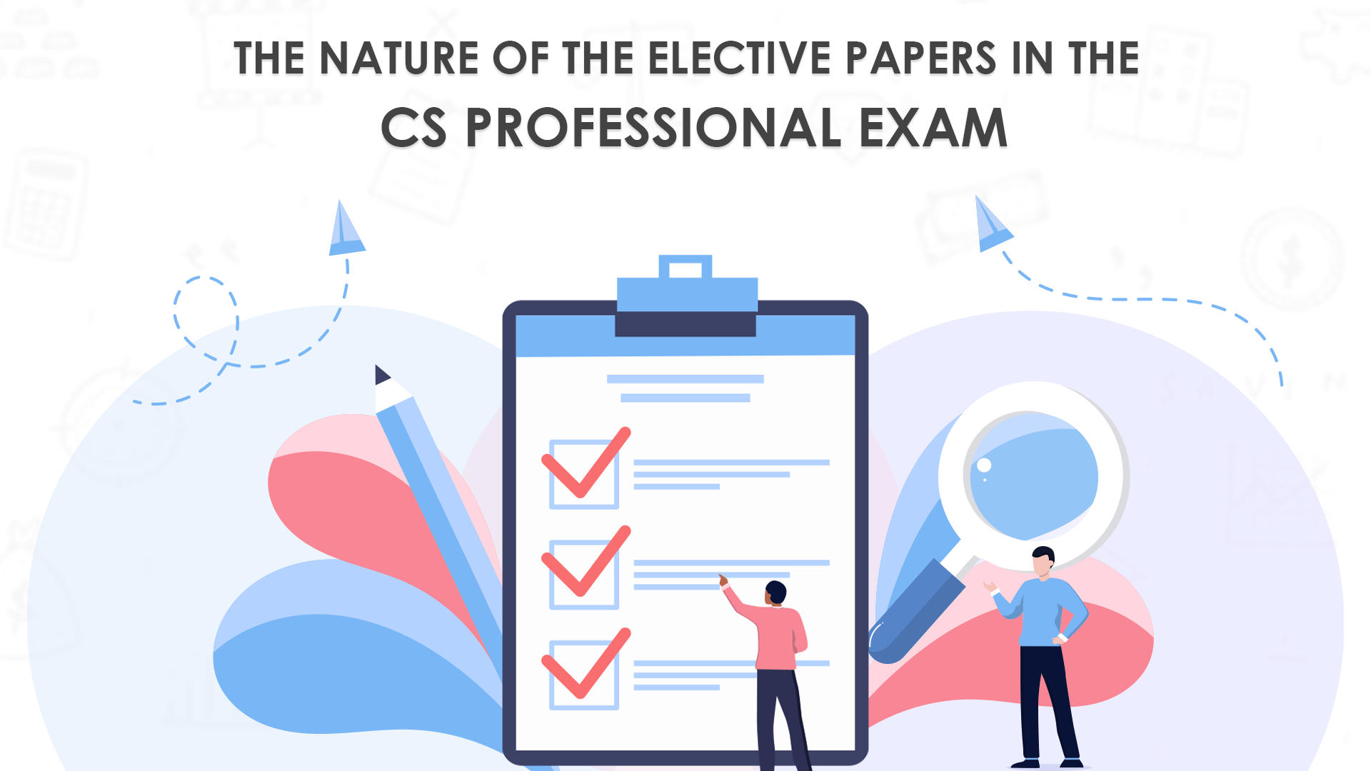 The Nature of the Elective Papers in the CS Professional Exam