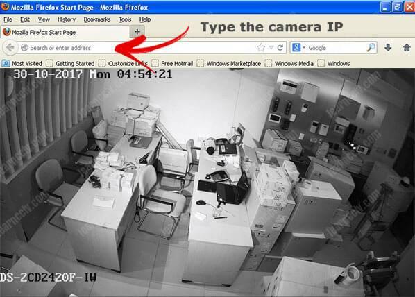 Cửa hậu camera Hikvision