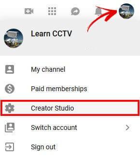 YouTube Studio Oluşturucu