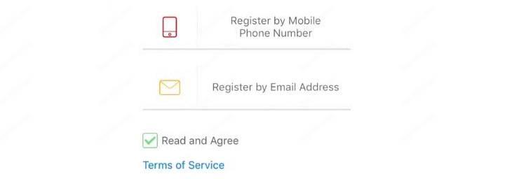 Điện thoại đăng ký cấu hình ứng dụng