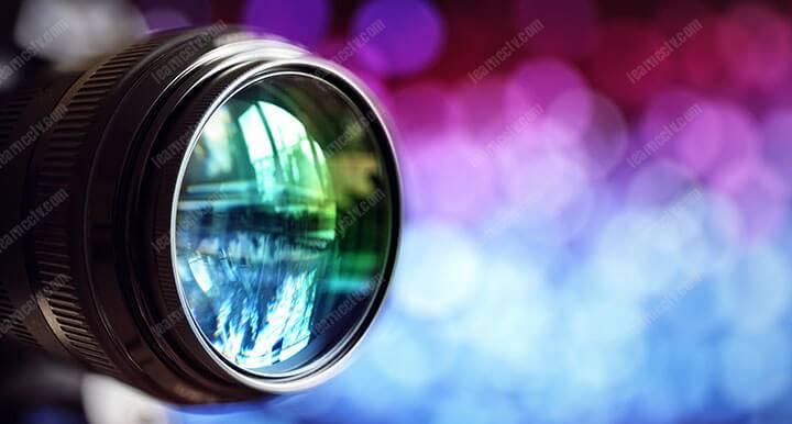 Ống kính mạnh mẽ cho thấy Camera an ninh có thể nhìn được bao xa