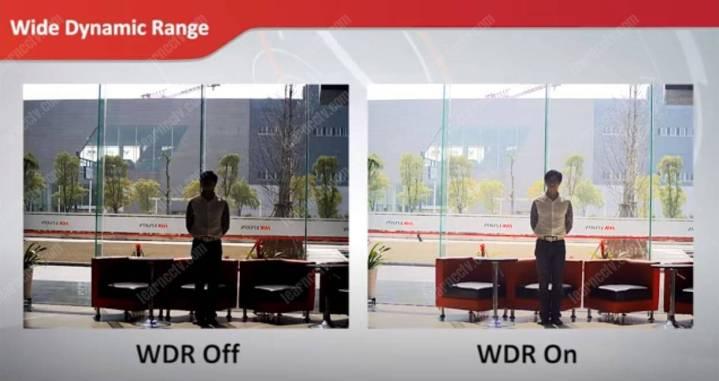 WDR On và Off