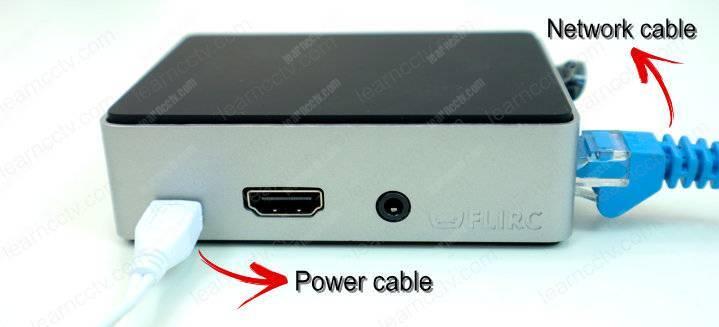 Videoloft Cloud Adapter với UTP và cáp nguồn