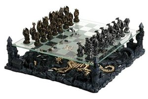 Dragon chess set, chess sets, chessboard