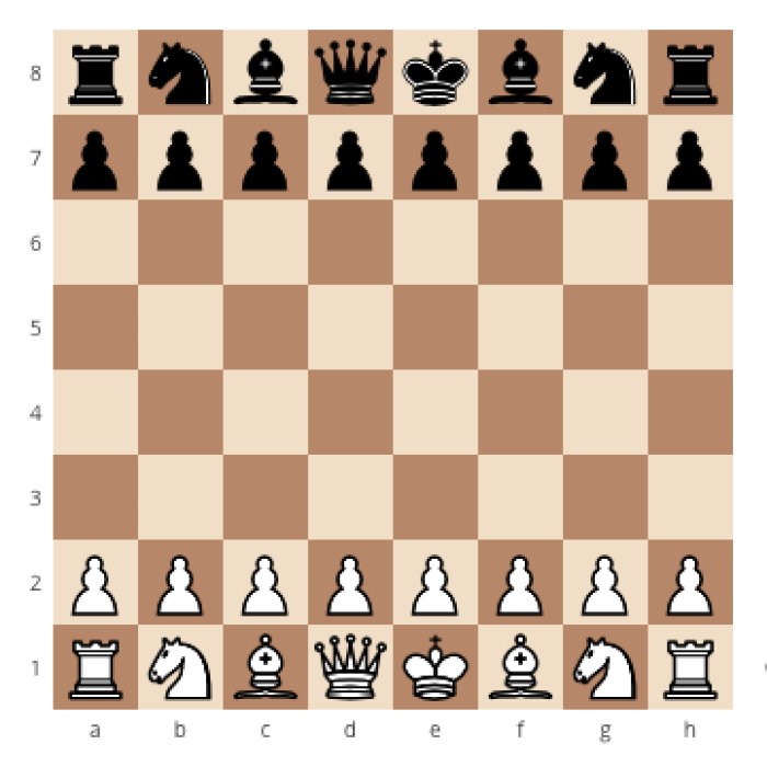 How to correctly set up a chessboard, how to place the pawns on a chessboard, how to set up a chessboard the right way