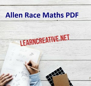 Allen Race Maths PDF