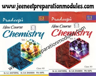 Pradeep Publications New Course Chemistry Vol 1 & 2 Class 12 [PDF]