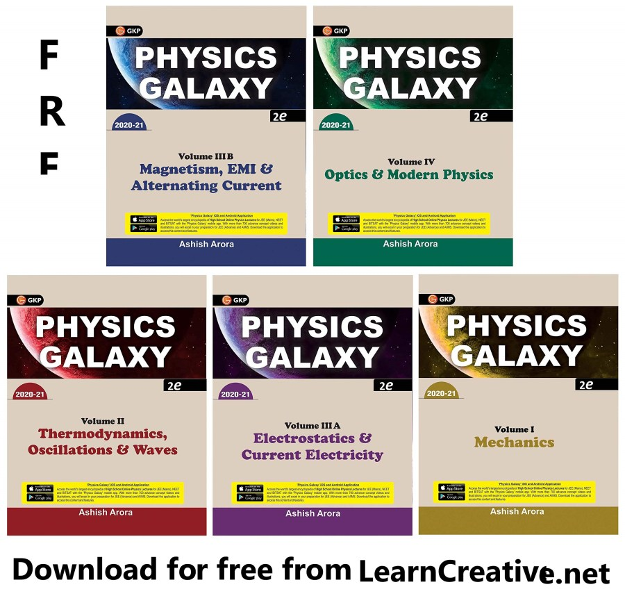 Physics Galaxy PDF Book by Ashish Arora and Video Lectures