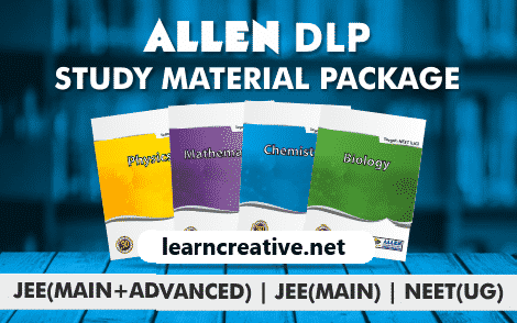Allen Study Material PDF Modules DLP Free for JEE/NEET PCMB 2020