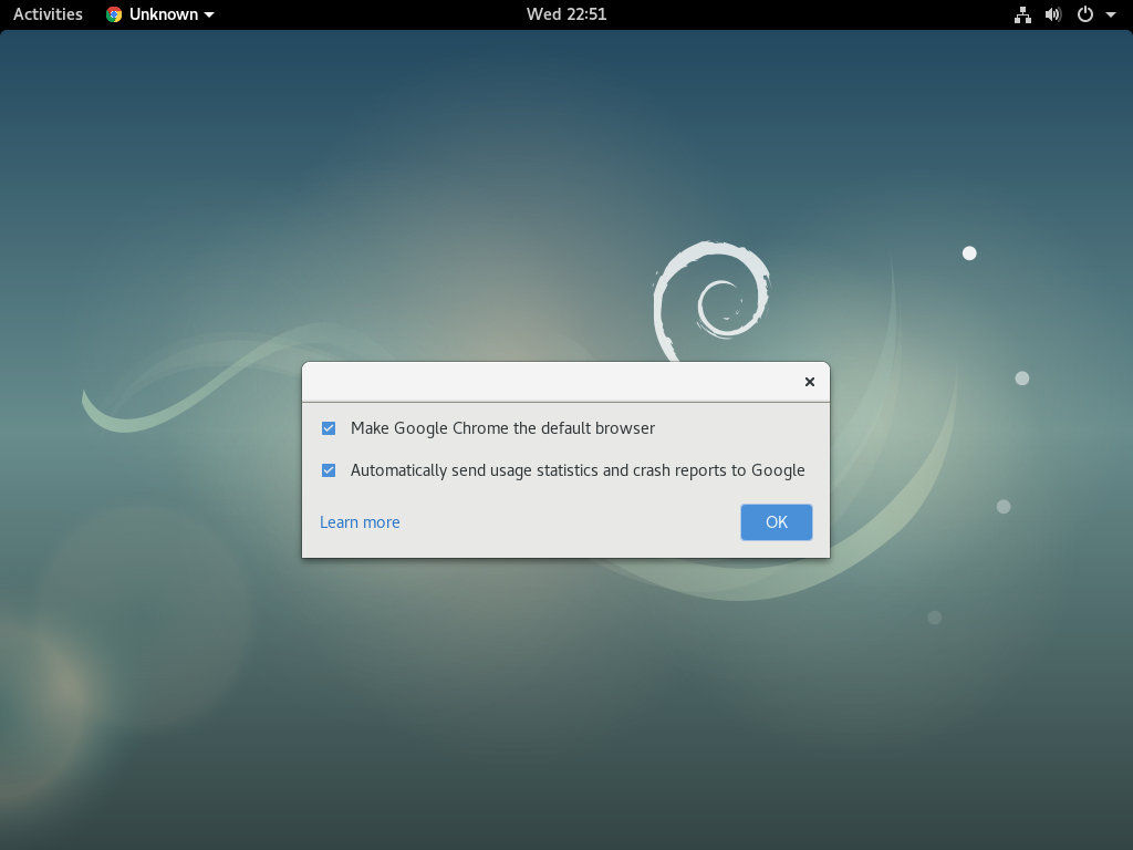 install google chrome debian