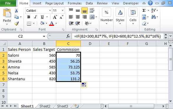 Excel Logical Test Using Multiple If Statements [OR/AND] 1
