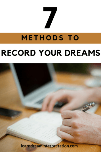 Use these 7 methods to record your dreams