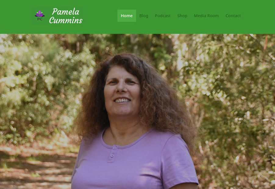 Pamela Cummins website