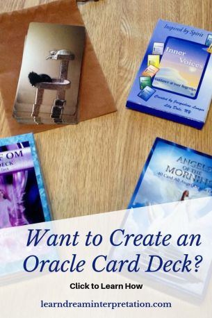 Want to Create an Oracle Card Deck