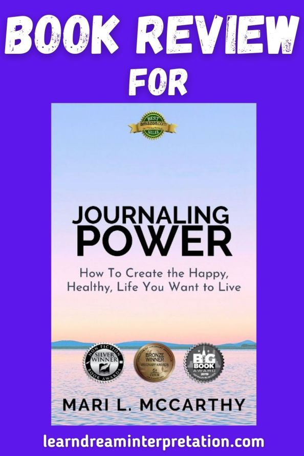 review for the Journaling Power book by Mari L. McCarthy