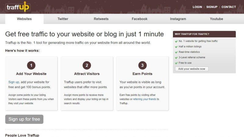 free like4like website increases traffic for your website in a simple way