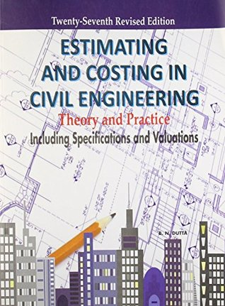 CE6704 Estimation and Quantity Surveying