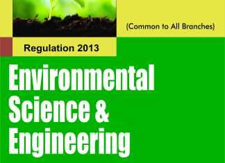 GE6351 Environmental Science and Engineering