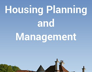 CE6007 Housing Planning and Management