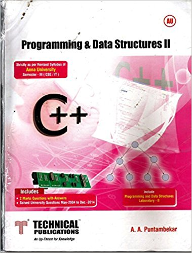CS6301 Programming and Data Structure II CS6301 Programming and Data Structure II